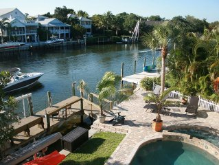 Large Private Home On Water With Pool/Spa On #1Beach In Us! - Siesta Key