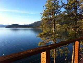3 BR+/2BA Gorgeous Lake View Home -- - Stay on the lake