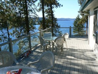 Beautiful Coeur d'Alene Lake Front Cottage (700 Sf Dock)