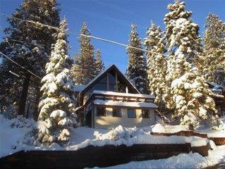 Spacious Tahoe Home W Lake Views, Hot Tub, 5 Mins to Northstar