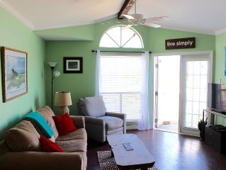1 Bed, 1 Bath W/ Big Beach Views - 100 Yards To The Beach! Pool, Hot Tub, Sauna