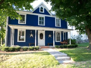 Family-friendly, centrally located, quiet, updated, historic home built in 1890.
