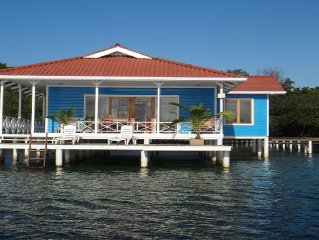 Family-friendly Unforgettable Vacation at over the water house.
