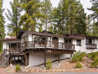 Dollar Point Lake View Home/Newly Updated/Large Deck/Family Amenities Galore!!!