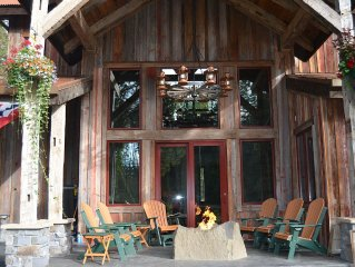 Water Front Bigfork/Glacier Park Luxury Relaxation