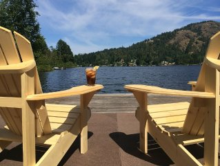 SHAWNIGAN LAKE WATERFRONT HOME WITH PRIVATE DOCK