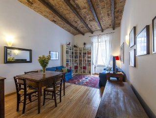 Beautiful apartment, Vatican area, large and quiet, family-friendly, WIFI, AC