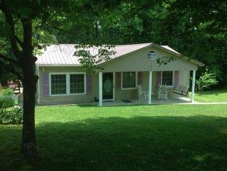 Country Lakehouse Vacation Rental on Lake Cumberland