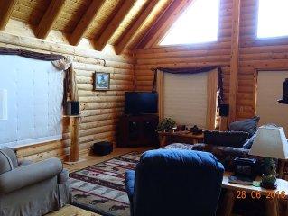 Log Cabin in the Aspens at Vega State Park