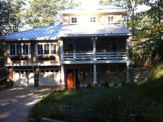 Stunning Lake Michigan Home 'Bel Lago'