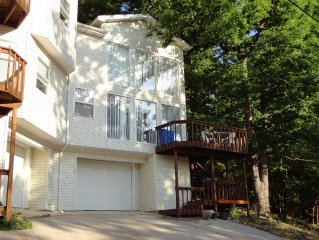 Pet Friendly!  Lake Home with Boat/Swim Dock on the Gravois Arm