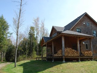 Mad River Valley Post and Beam 4 BR in Waitsfield Vt