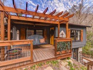Family-Friendly Mtn Cabin; Waterfall/River; Lake Lure, Hendersonville, Asheville