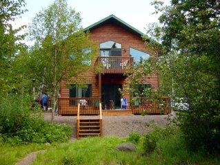 Enjoy This Pristine Year Round Beautiful Hide-Away Lake Home!