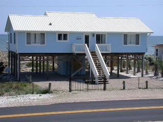 Second Wind!  Beachfront Home, 4 Bedroom/2 Bath. Sleeps 8