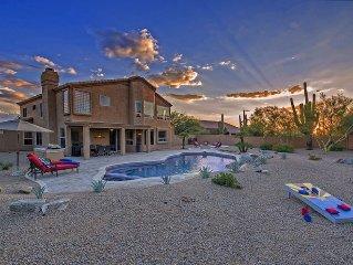 New 5 Bedroom in N Scottsdale! Resort Style Yard w/ New Spa!
