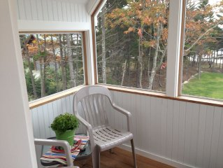 Boothbay Harbor/Ocean Point Maine Waterfront Air Conditioned Apartment