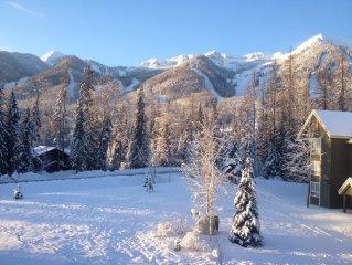 Fernie Condo With Ski Hill Views