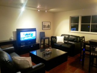 Kitsilano, Fully Furnished 2 BR Top Floor, Central Location