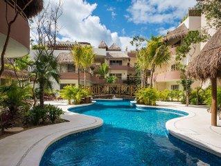 Brand New Luxury 2 Bedroom Condo, in neighborhood closest to Tulum Beach