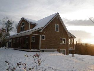 Beautiful Family Mountain Retreat. Minutes To Sunday River Ski Resort and Bethel