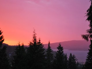 Sunset View over Lake Whatcom