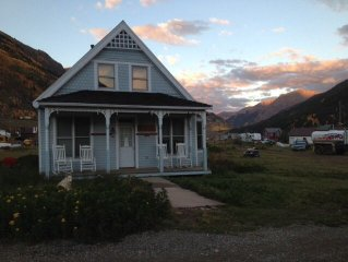 On OHV Route-Downtown Silverton Historic Moutain Home- White Wolf Haus
