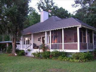 Lowcountry Home on Deep Water/Private dock/ covered pier head  / ~