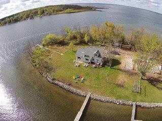 Rent Your Own Peninsula on North Long Lake!