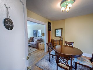 3rd of 4 Suites in Park House Geneva; in the Heart of Geneva's Historic District
