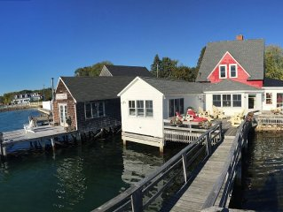 On the water with tidal beauty. Private deck pier & dock for swimmers & boaters.