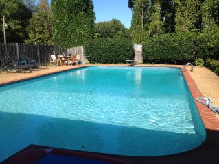 Luxury Pool House Retreat near Tunica Casinos Beale & Graceland