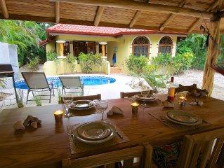 Beautiful Beach House with pool on Playa Pelada (Nosara)