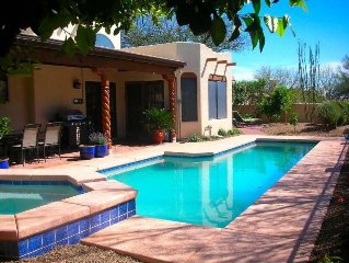 Elegant Santa Fe 3 Br 2.5 Ba - Heated Pool & Spa On Golf Course