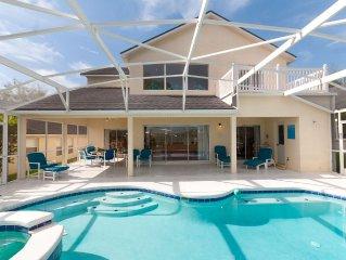 Superb Lake View Pool Villa. Games Rm, Wi-Fi + Disney 10 Mins!