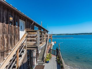 Unobstructed Water Views! Right Downtown In Historic Coupeville Walk Everywhere!
