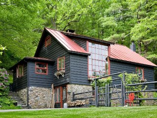 July/August summer rental special w/Air cond. woodstock near lake hike fish art