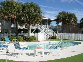 2nd Row -  Private Pool - Putting green ,Direct beach access in front of home !