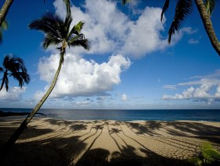 Beautiful North Shore Home at Ke Iki Beach (available 30 days or longer)