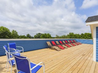 (4) 4th NIGHT FREE!- Huge New Home - Rooftop Deck, Pool Table - 3.0mi To Downtow