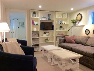 Renovated Suite, Quite Forested Lot, Steps From Hospital, One Hour to Vancouver