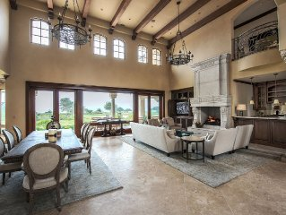 New Pebble Beach Ocean Front Chateau With Ocean And Golf Course Views