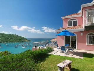 Pink Conch - 2 Bedroom Luxury Villa, Great Cruz Bay, St. John