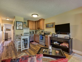 Creekside Condo in Downtown Winter Park - Ideal Romantic Getaway W/SKI LOCKER!