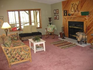 Seven Wooded Acres of Private Family-Friendly Cabin Life