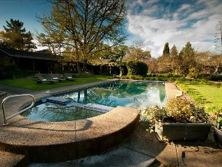 Spacious Sonoma Gated Retreat on 5+ Acres with Pool and Spa