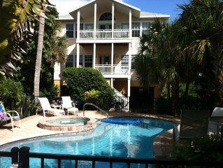 Private Beach House - Elevator, Heated Pool and Hot Tub!
