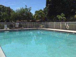 2 Bed/2 Bath First Floor Condo In Estero, Florida (Fountain Lakes)
