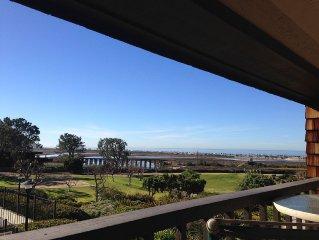 Ocean view Del Mar condo