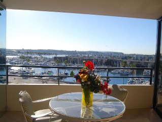 1 bedroom 5* unit in a 5 star resort at the water in Marina Del Rey.